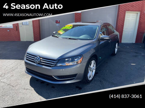 2014 Volkswagen Passat for sale at 4 Season Auto in Milwaukee WI