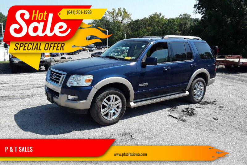 2007 Ford Explorer for sale at P & T SALES in Clear Lake IA