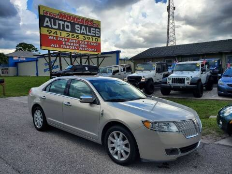 2010 Lincoln MKZ for sale at Mox Motors in Port Charlotte FL