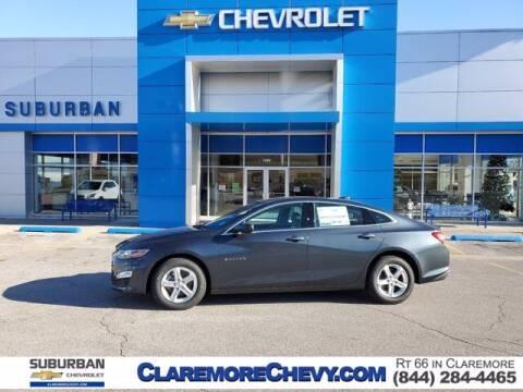 2021 Chevrolet Malibu for sale at Suburban Chevrolet in Claremore OK