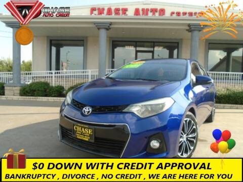 2014 Toyota Corolla for sale at Chase Auto Credit in Oklahoma City OK