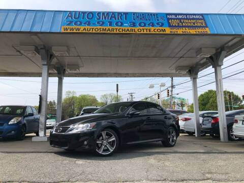2013 Lexus IS 250 for sale at Auto Smart Charlotte in Charlotte NC