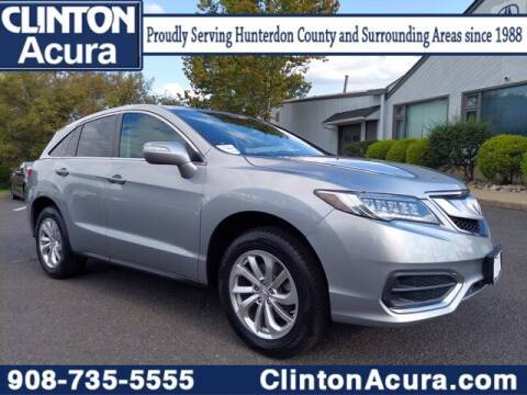 2017 Acura RDX for sale at Clinton Acura used in Clinton NJ