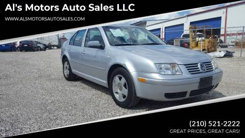 2002 Volkswagen Jetta for sale at Al's Motors Auto Sales LLC in San Antonio TX