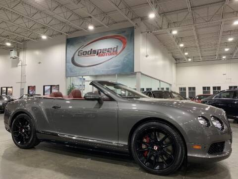 2015 Bentley Continental for sale at Godspeed Motors in Charlotte NC