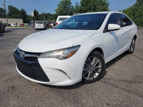 2015 Toyota Camry for sale at Cruisin' Auto Sales in Madison IN