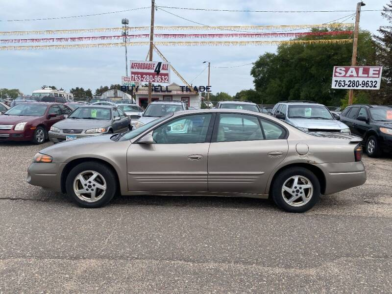 2004 Pontiac Bonneville for sale at Affordable 4 All Auto Sales in Elk River MN