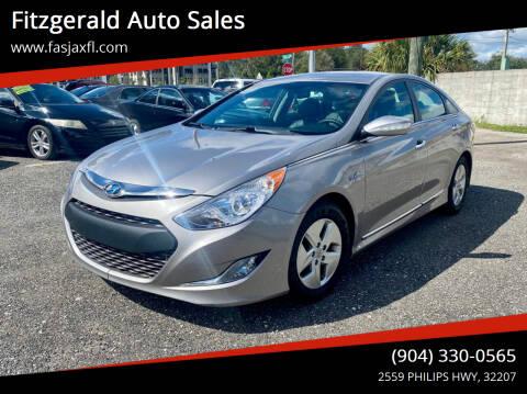 2012 Hyundai Sonata Hybrid for sale at Fitzgerald Auto Sales in Jacksonville FL