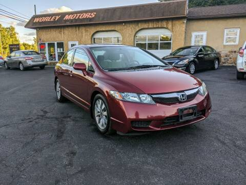 2009 Honda Civic for sale at Worley Motors in Enola PA