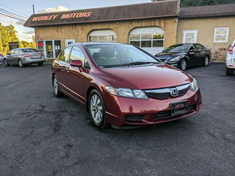 2009 Honda Civic for sale at Worley Motors in Enola PA