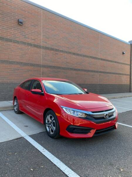 2017 Honda Civic for sale at KI Auto Body and Sales in Lino Lakes MN