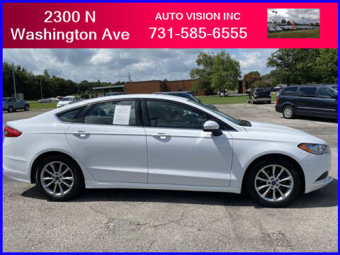 2017 Ford Fusion for sale at Auto Vision Inc. in Brownsville TN