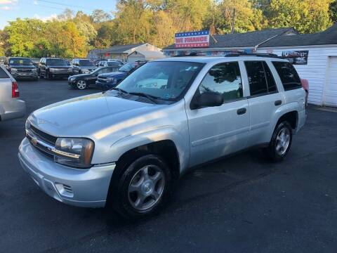 2008 Chevrolet TrailBlazer for sale at INTERNATIONAL AUTO SALES LLC in Latrobe PA