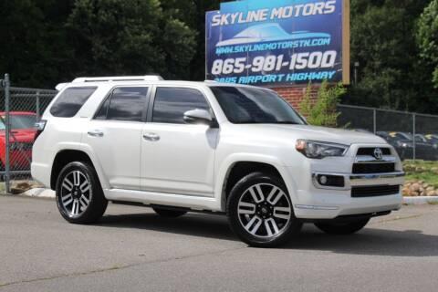2014 Toyota 4Runner for sale at Skyline Motors in Louisville TN