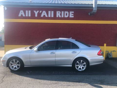 2008 Mercedes-Benz E-Class for sale at Big Daddy's Auto in Winston-Salem NC