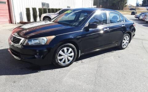 2008 Honda Accord for sale at Mathews Used Cars, Inc. in Crawford GA