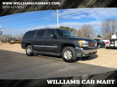 2003 GMC Yukon XL for sale at WILLIAMS CAR MART in Gassville AR