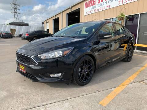 2016 Ford Focus for sale at Market Street Auto Sales INC in Houston TX