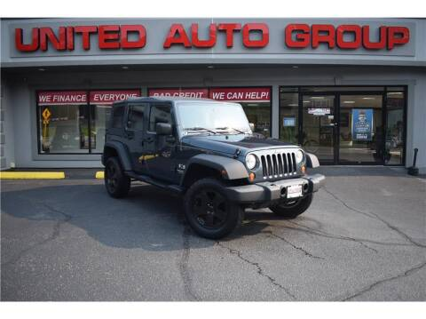 2008 Jeep Wrangler Unlimited for sale at United Auto Group in Putnam CT