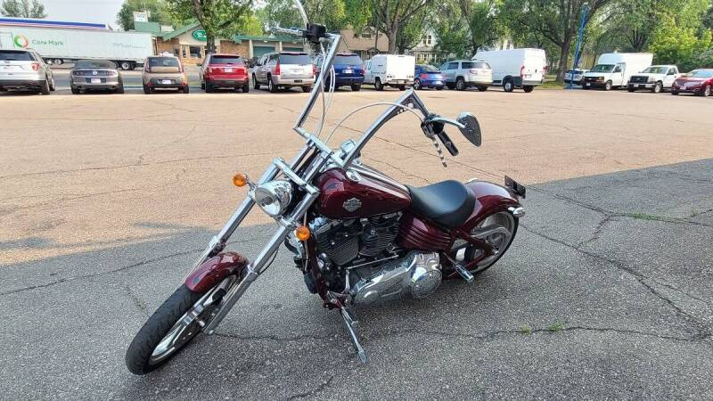 2009 Harley-Davidson FXCWC for sale at Twin City Motors in Grand Forks ND