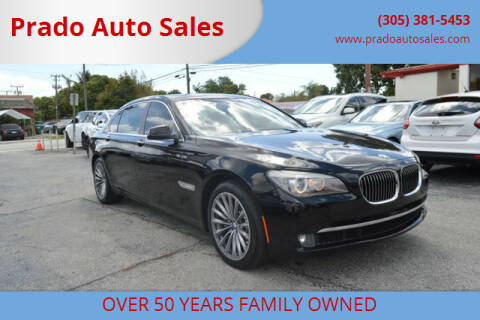 2011 BMW 7 Series for sale at Prado Auto Sales in Miami FL