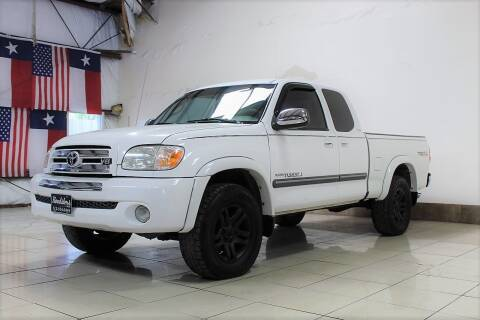 2005 Toyota Tundra for sale at ROADSTERS AUTO in Houston TX