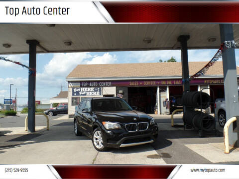 2014 BMW X1 for sale at Top Auto Center in Quakertown PA