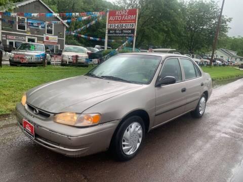 2000 Toyota Corolla for sale at Korz Auto Farm in Kansas City KS
