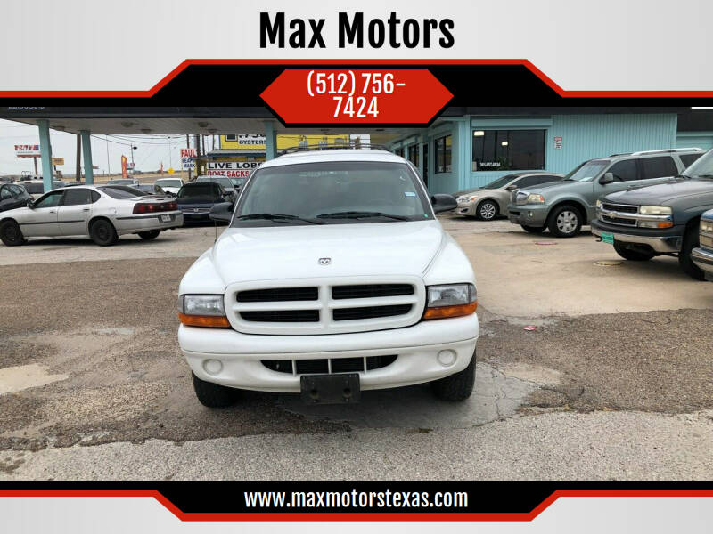 1999 Dodge Durango for sale at Max Motors in Corpus Christi TX