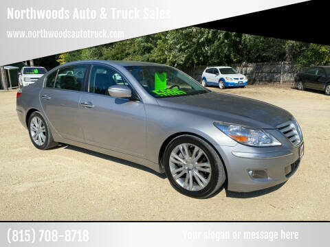 2011 Hyundai Genesis for sale at Northwoods Auto & Truck Sales in Machesney Park IL