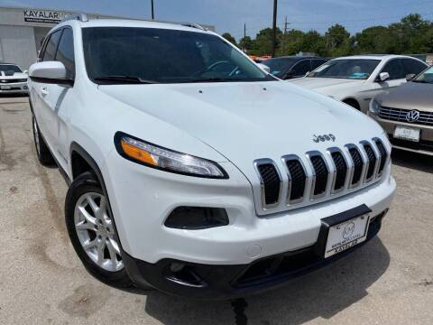 2014 Jeep Cherokee for sale at KAYALAR MOTORS in Houston TX
