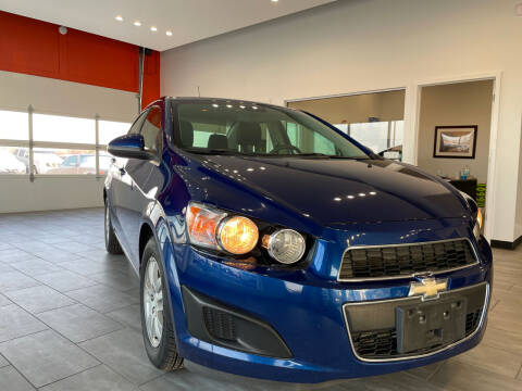 2013 Chevrolet Sonic for sale at Evolution Autos in Whiteland IN