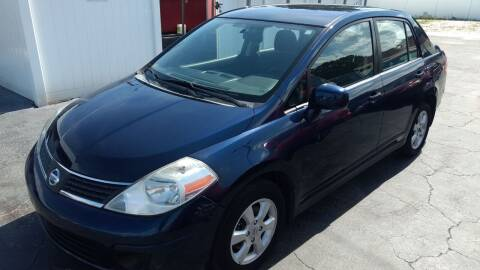 2007 Nissan Versa for sale at AFFORDABLE AUTO SALES in We Finance Everyone! FL