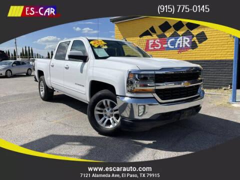 2017 Chevrolet Silverado 1500 for sale at Escar Auto - 9809 Montana Ave Lot in El Paso TX