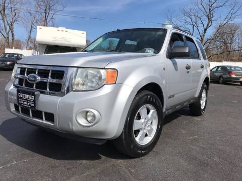 2008 Ford Escape for sale at Certified Auto Exchange in Keyport NJ
