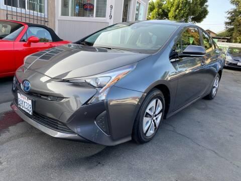 2017 Toyota Prius for sale at Ronnie Motors LLC in San Jose CA