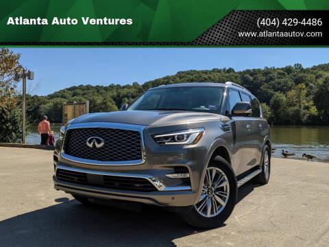 2019 Infiniti QX80 for sale at Atlanta Auto Ventures in Roswell GA