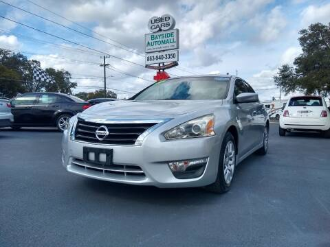 2015 Nissan Altima for sale at BAYSIDE AUTOMALL in Lakeland FL