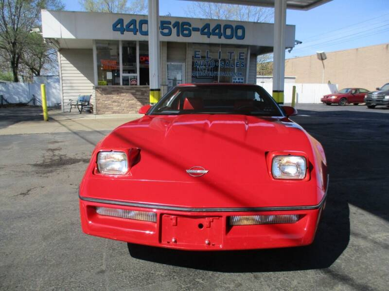 1987 Chevrolet Corvette for sale at Elite Auto Sales in Willowick OH