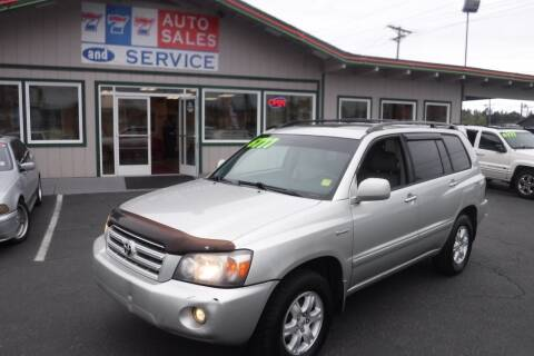 2006 Toyota Highlander for sale at 777 Auto Sales and Service in Tacoma WA