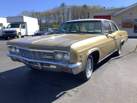 1966 Chevrolet Impala for sale at Motuzas Automotive Inc. in Upton MA