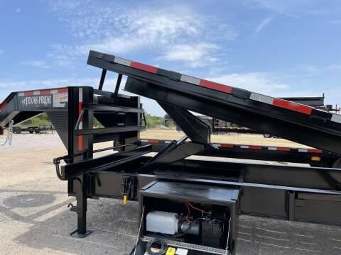 2021 TEXAS PRIDE  - Power Tilt 25' - 8K Axles - for sale at LJD Sales in Lampasas TX