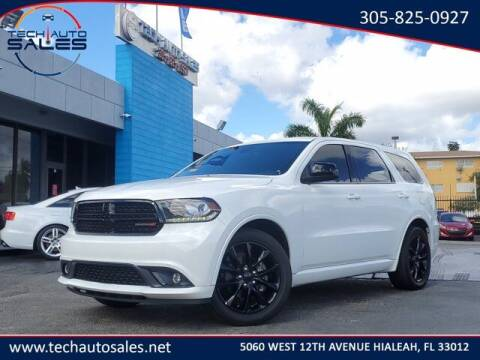 2018 Dodge Durango for sale at Tech Auto Sales in Hialeah FL