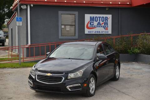 2015 Chevrolet Cruze for sale at Motor Car Concepts II - Kirkman Location in Orlando FL