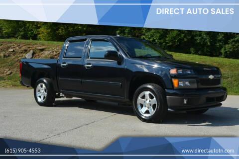 2011 Chevrolet Colorado for sale at Direct Auto Sales in Franklin TN