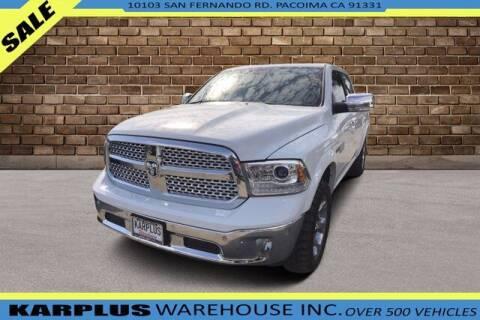 2015 RAM Ram Pickup 1500 for sale at Karplus Warehouse in Pacoima CA