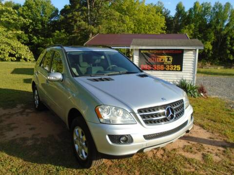 2007 Mercedes-Benz M-Class for sale at Hot Deals Auto LLC in Rock Hill SC