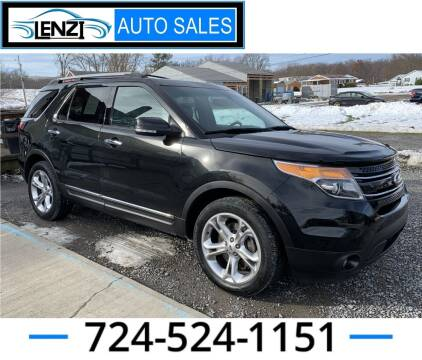 2014 Ford Explorer for sale at LENZI AUTO SALES in Sarver PA