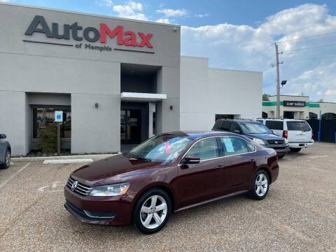 2013 Volkswagen Passat for sale at AutoMax of Memphis - Nate Palmer in Memphis TN