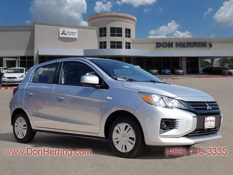 2021 Mitsubishi Mirage for sale at Don Herring Mitsubishi in Plano TX